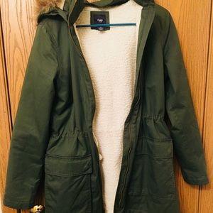 Gap utility jacket with Sherpa fleece